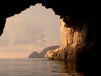 划独木舟路线Cabo de Gata,中等水平,成人