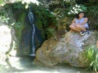En una cascada