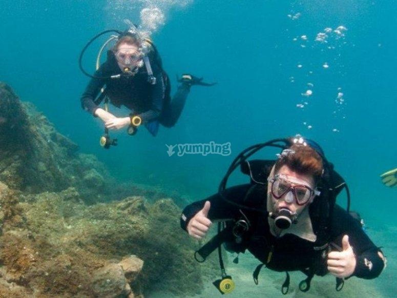 Experiencia submarina