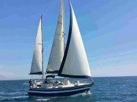 在阿利坎特帆船湾钓鱼的日子12h