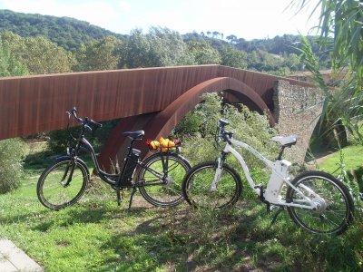 Alquiler de bicicleta eléctrica en el Montseny