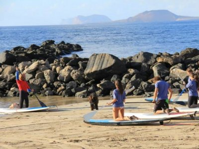 Paddle surf in Famara beach, 3 hours