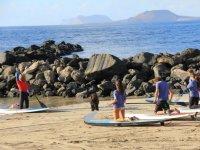 Hacer SUP en la playa de Famara 3 horas