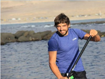 Private lesson of Standup paddleboarding Famara 3h