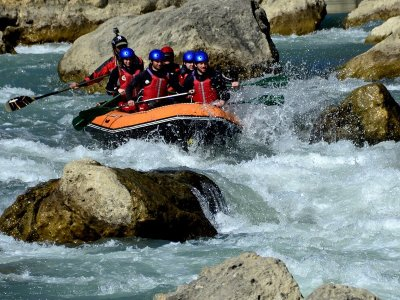 Rafting lungo il fiume Gállego Livello II