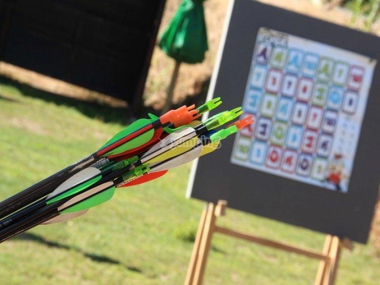 Flechas preparadas