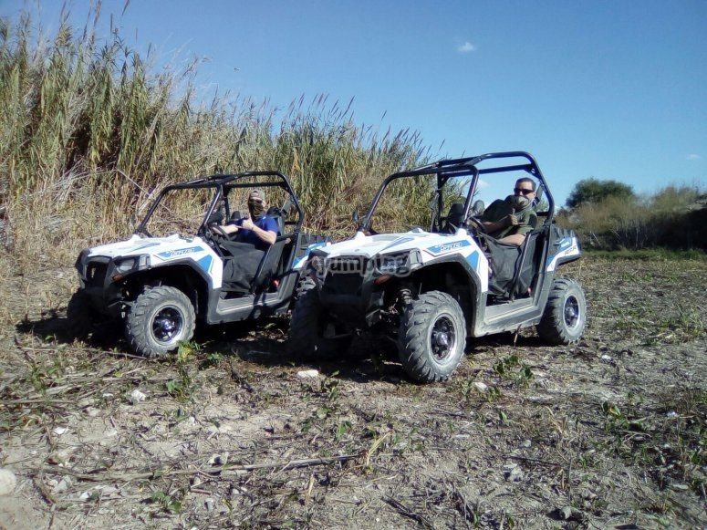 Ruta en buggy terrenos agrestes