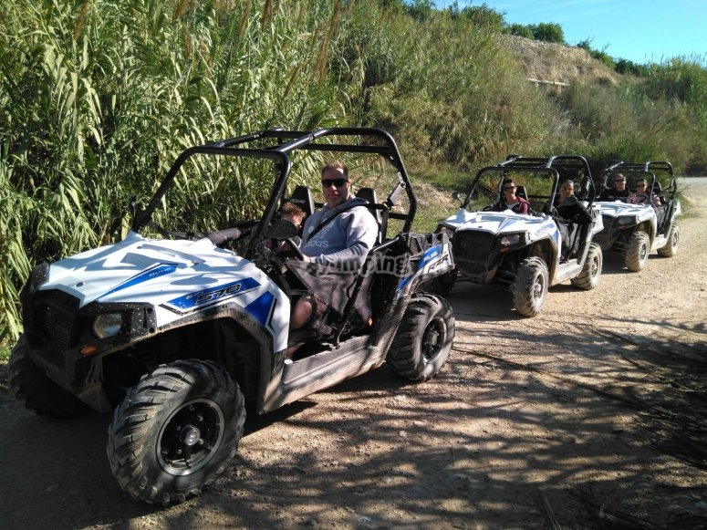 Terreno off road para buggies