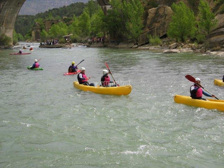 开放皮划艇练习