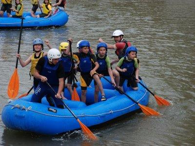 Rafting en río Júcar o río Cabriel. Niños, 3h