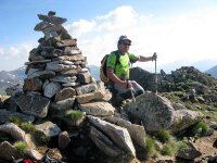 Trekking route getaway through 3 peaks, Andorra
