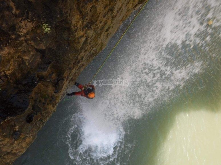 Descendiendo hacia el rio