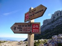Hiking trail in Mallorca