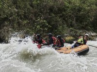 Rápidos durante el rafting