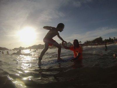 Corso di surf di 3 giorni a Puerto de Mazarrón