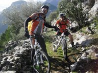 Discover the island by mountain bike