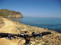 MTB route on the coast of Mallorca