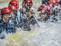 Divertimento garantito rafting