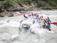 Perfect rafting for groups of friends