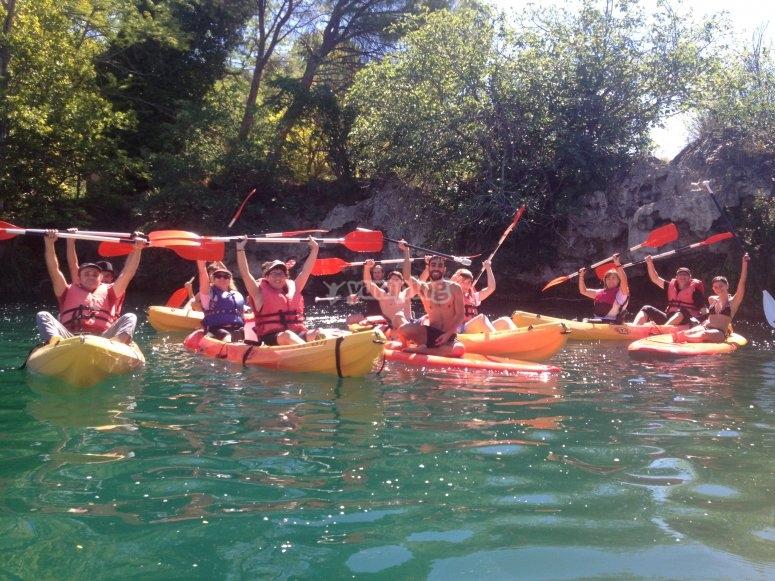 Kayak group