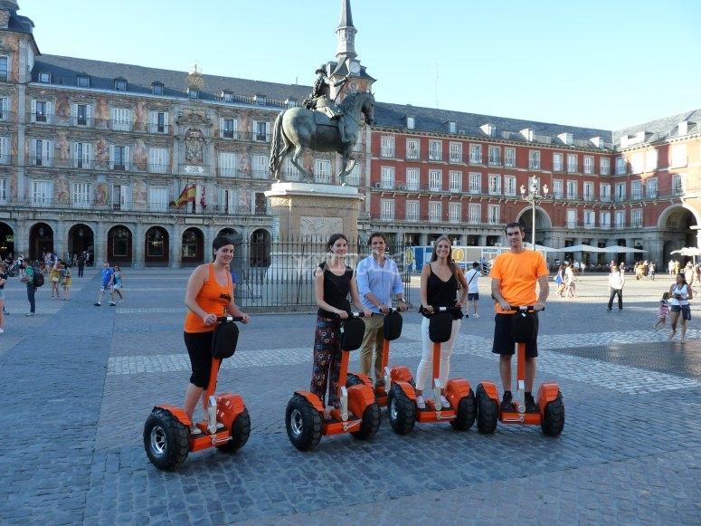 Ruta en segway por Madrid