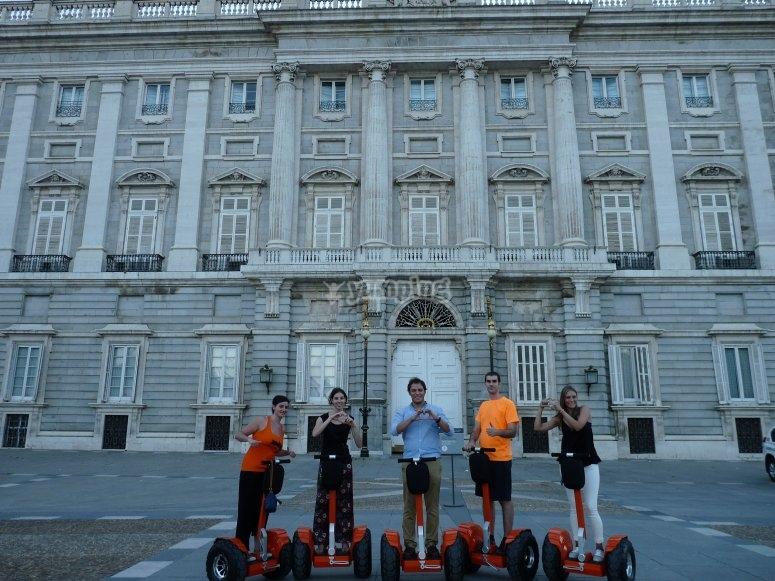 Recorrido en segway por Madrid