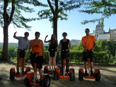 Initiation to segway course in Madrid 30 minutes