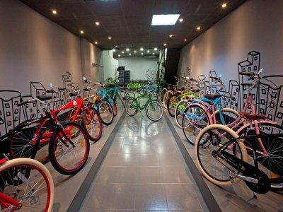 Tour en bicicleta por Barcelona, 4 horas