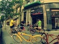 Ruta en bicicleta Barcelona Gótica y Modernista