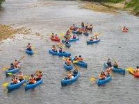 Descenso del Sella en canoa y pícnic adultos