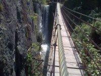 Pasando un puente