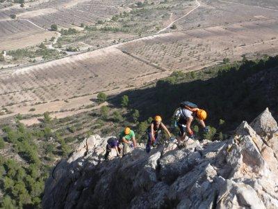 Vía ferrata en Murcia: Lúgar (Sierra de la Pila)
