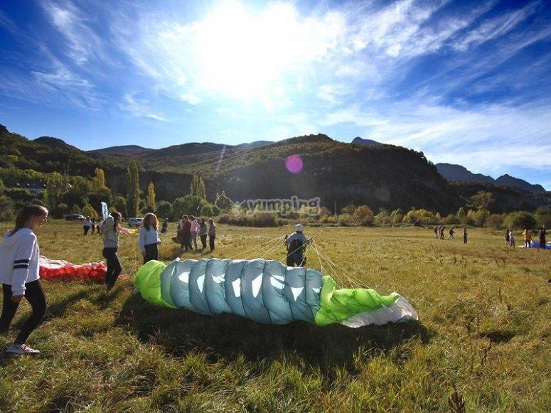 Paragliding course Sopelana