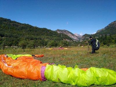 Paragliding induction lesson, Sopelana