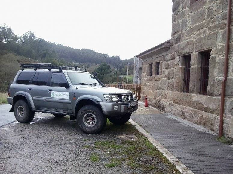 Parked in the Bregua station