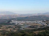 Alozaina desde las Sierra de las Nieves