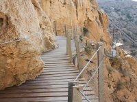 Atrévete a pasera por el desfiladero del Caminito del Rey