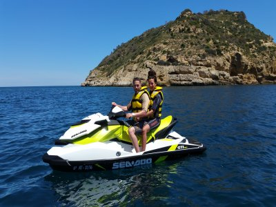 Flyboard and jet ski trip Jávea bay