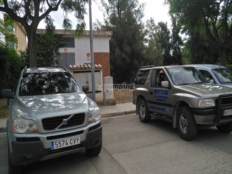 Ruta en Volvo XC 90