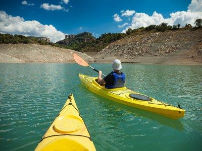 Kayak in Siurana Giro turistico e vino da regalo