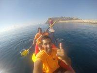 Navigazione in doppio kayak