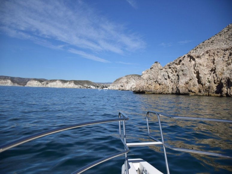 Navegando por la costa de Almería