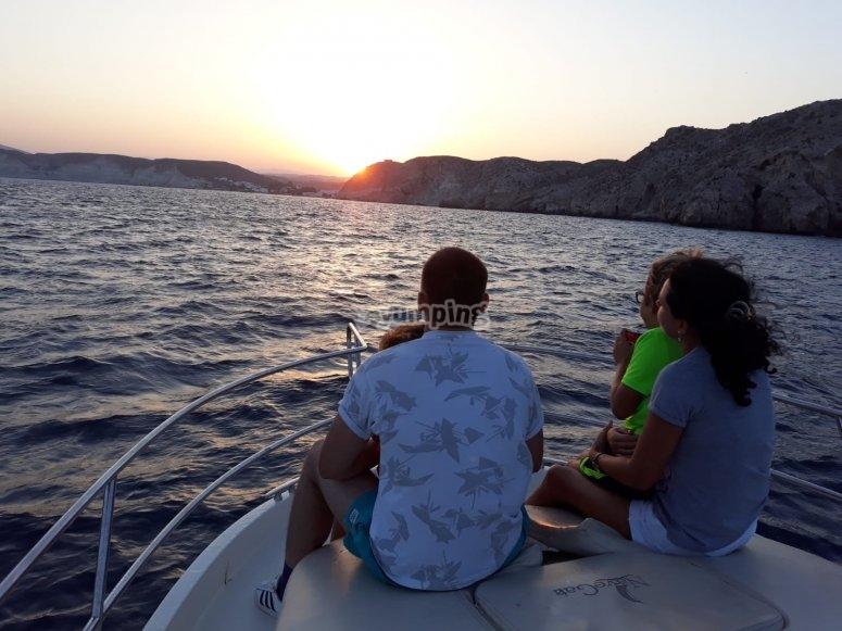 Family tour in Cabo de Gata