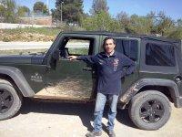 乘坐Garraf的Jeep Wrangler路线,4小时