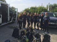 Grupos primera experiencia submarina