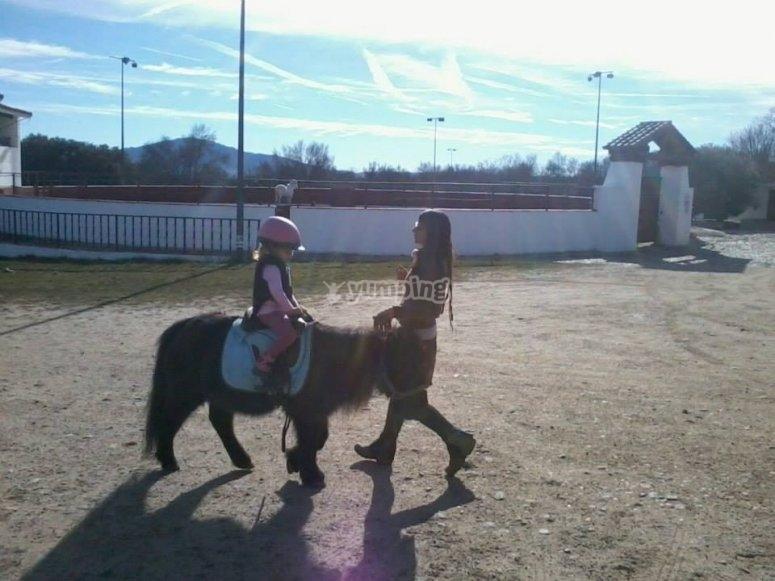 Ejercicios a caballo