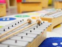 为学生提供木琴
