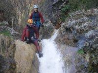 Practice canyoning near Madrid