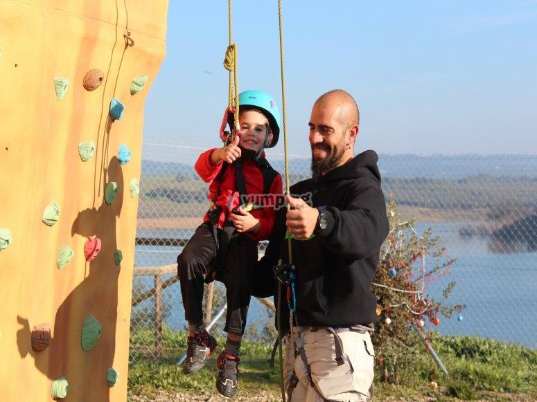 对于登山攀岩墙在rocodromo