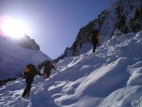 Difficult ascents